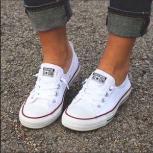 {LACED🍦CREAM} CONVERSE Shoreline Slip-On Sneaker